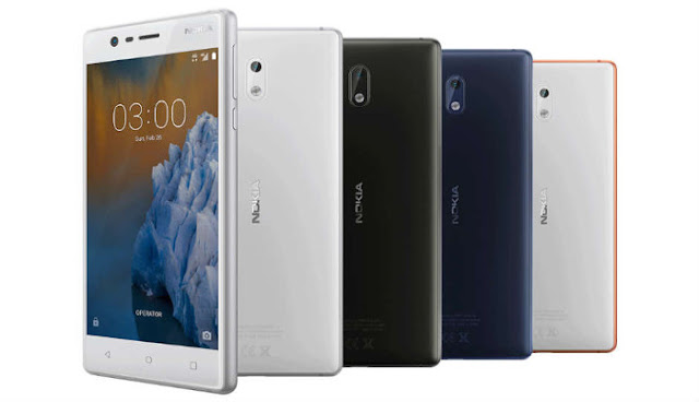 Nokia 3 resistance test in video