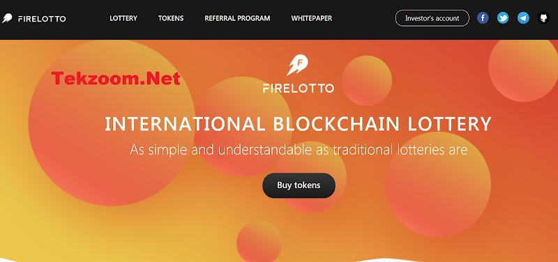 Review ICO Fire Lotto [FLOT] - Dự án ICO xổ sổ Lotto trả thưởng quốc tế