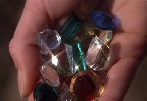 los goonies the gems precious stones piedras preciosas hand mano