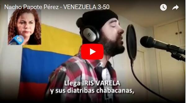 Venezuela 350 : La canción de Nacho Papote contra el régimen