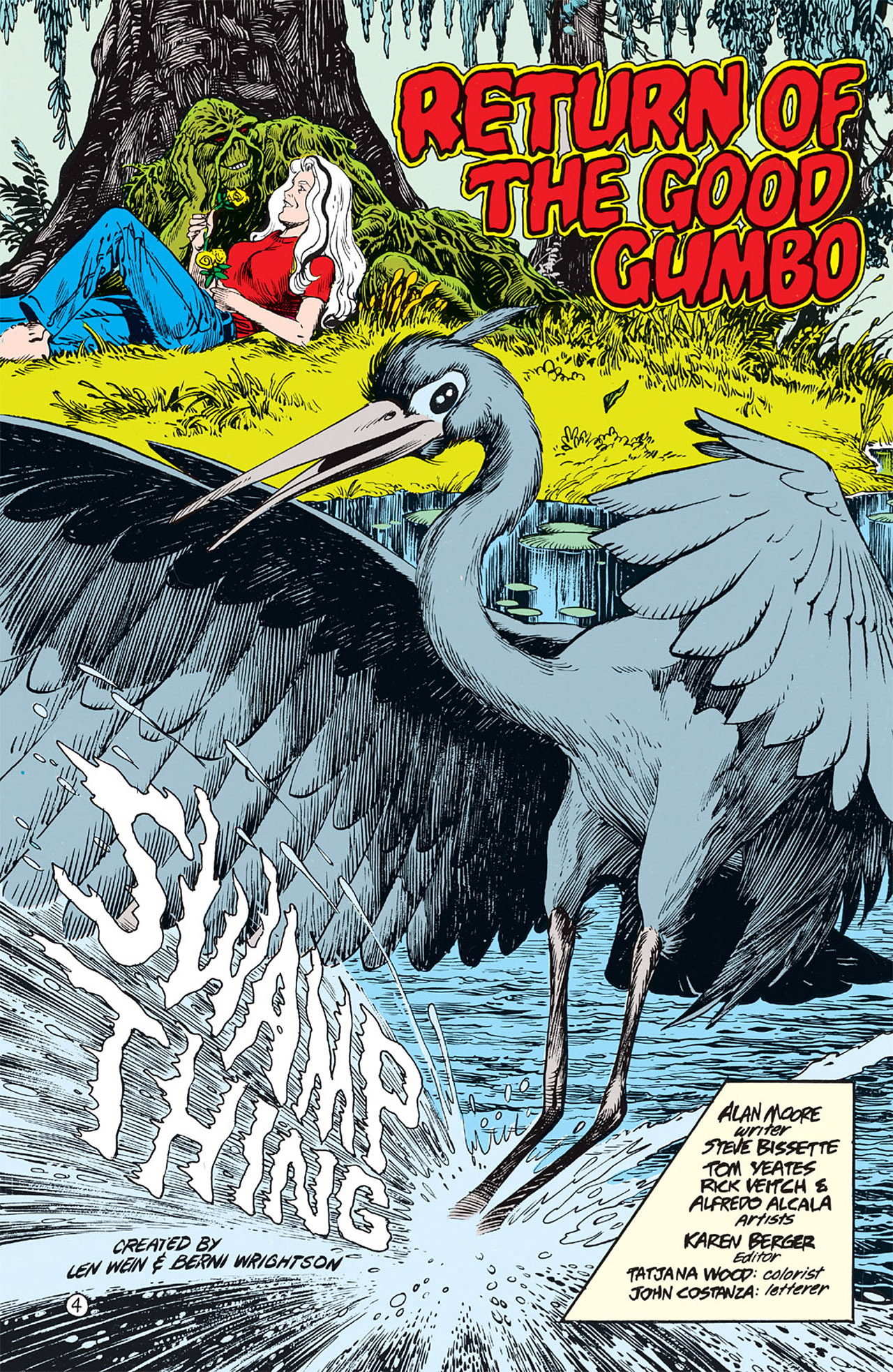 Swamp Thing (1982) Issue #64 #72 - English 5