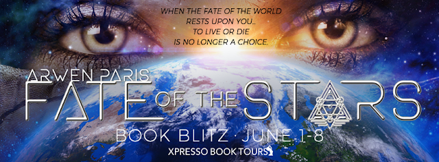 [Book Spotlight] FATE OF THE STARS by Arwen Paris  @arwenparis @XpressoTours #Excerpt
