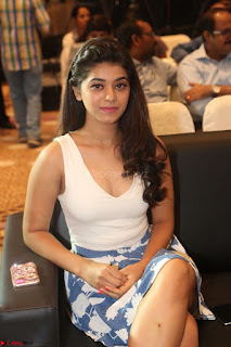 Yamini in Short Mini Skirt and Crop Sleeveless White Top 077.JPG