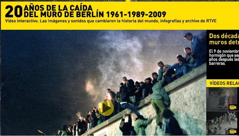 Rtve, 20 años de la caída del muro de Berlín