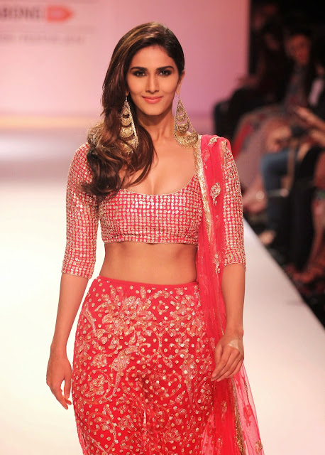 Vaani Kapoor Sexy Rampwalk in Red Dress Latest Unseen Photoshoot