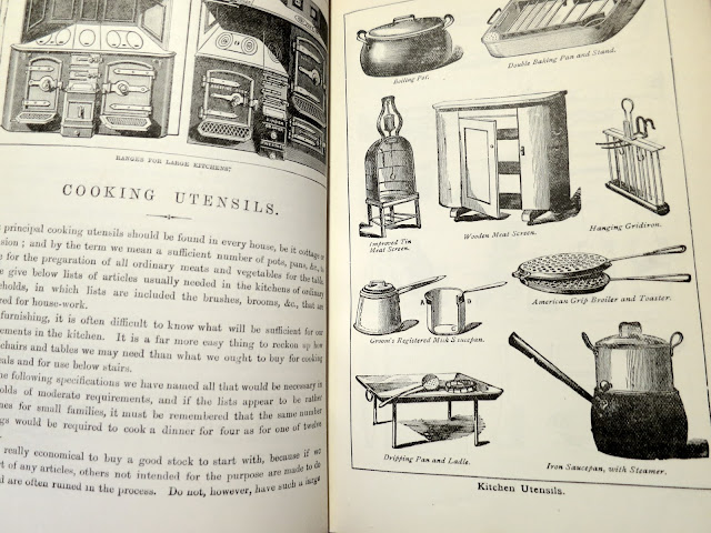 An illustrated introduction to cooking utensils, 1903.