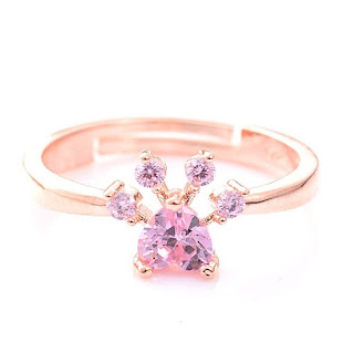 Cat Rings Jewelry Rose Gold
