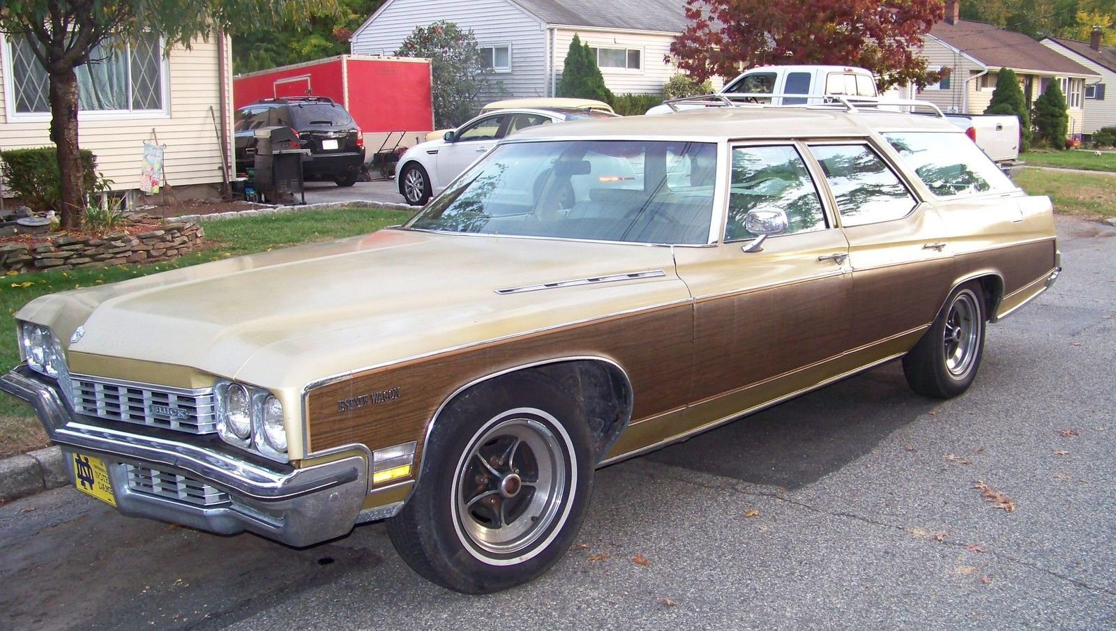 Crawling From The Wreckage: 1972 Buick Estate Wagon - Affordable ...