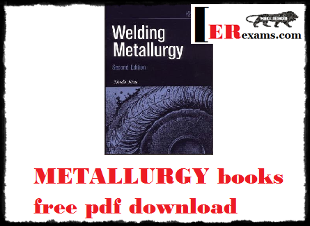 METALLURGY books free pdf download