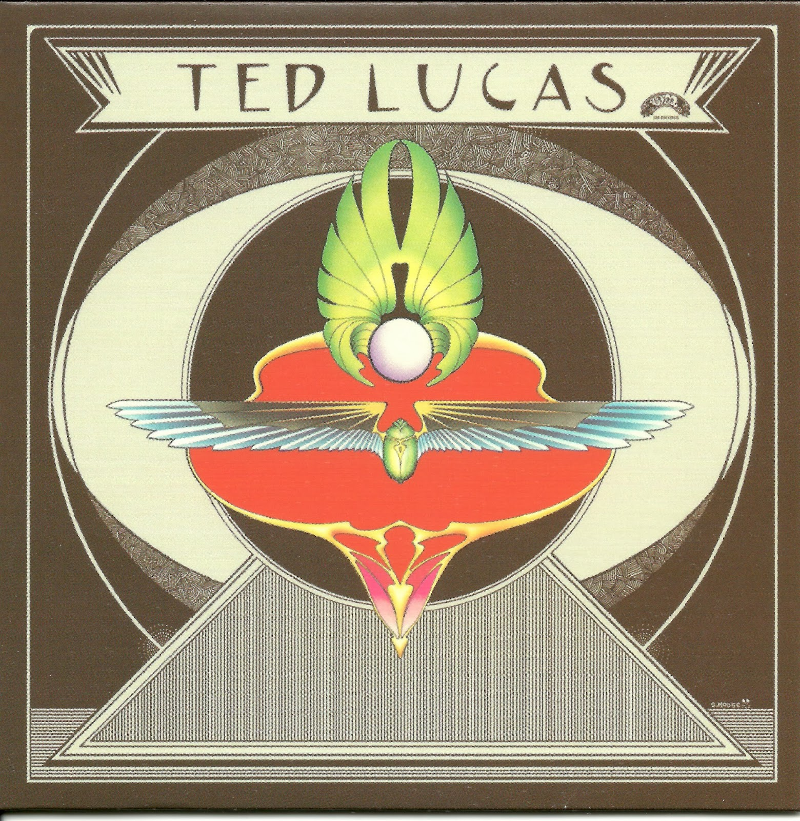 Ted Lucas – Ted Lucas (1975 us brilliant psychedelic folk-rock