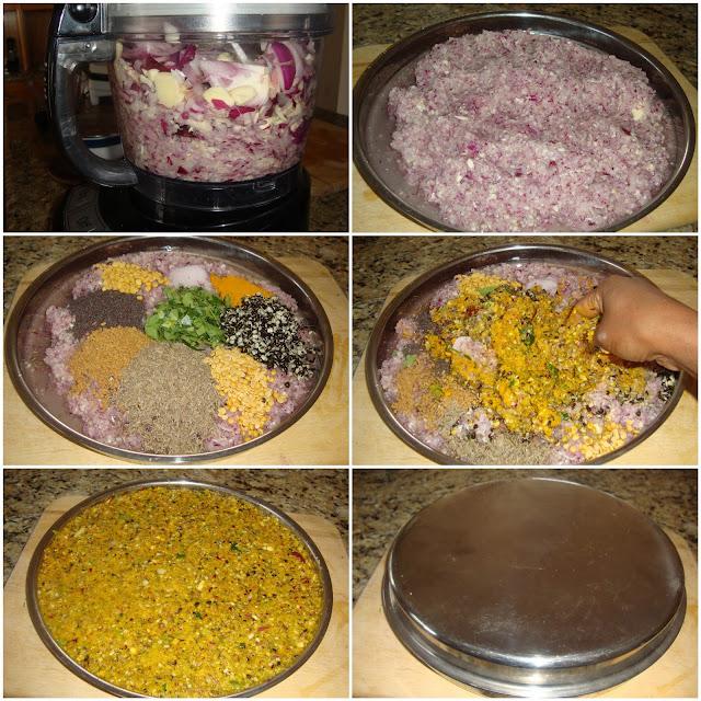 images of Vadagam Recipe / Vadavam Recipe / Thalippu Vengaya Vadagam Recipe / Thalippu Vadagam / Vengaya Vadavam