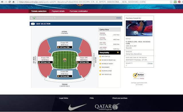 Como comprar ingresso para um jogo do Barcelona no Camp Nou