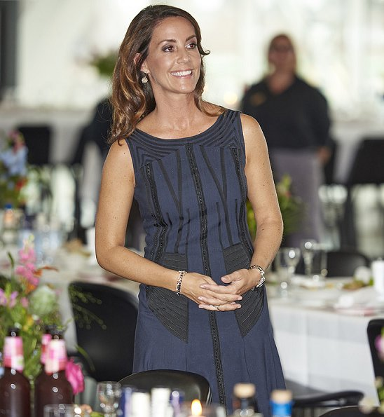 Princess Marie opened the Copenhagen Food Summit 2017 at a reception at the Danish Industri house in Copenhagen
