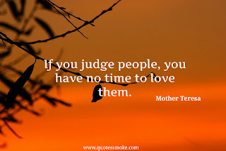 Wisdom Quote By Mother Teresa