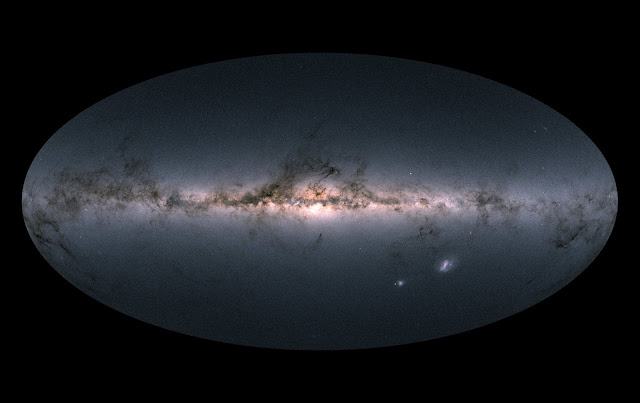 Gaia creates richest star map of our Galaxy—and beyond