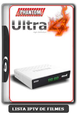 Phantom Ultra 4 Nova Atualização Beta IKS ON Canais SD - 25-05-2020