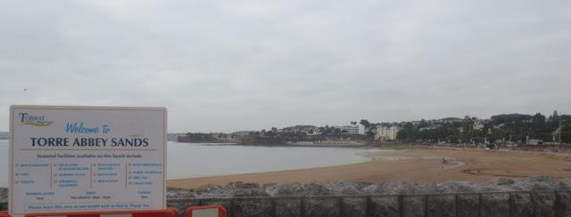 Torquay - Strandabschnitt