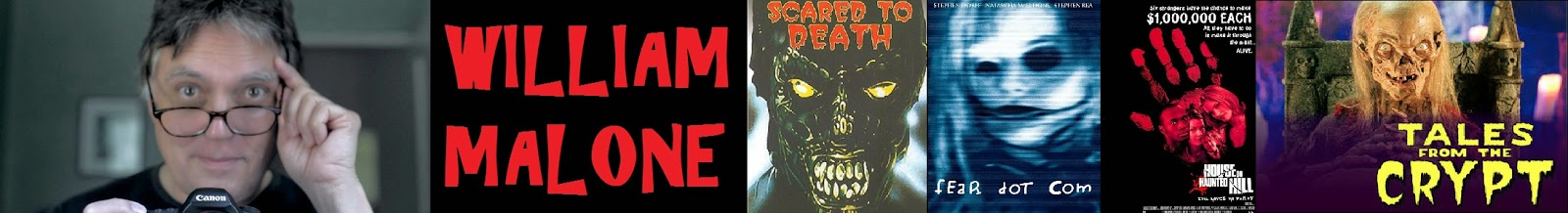 William Malone director, feart dot com, house on haunted hill remake