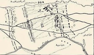 3-خريطة لمعركة كانوب 21مارس 1801