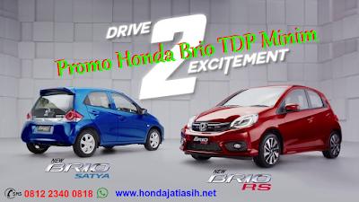 Promo Honda Brio TDP Minim