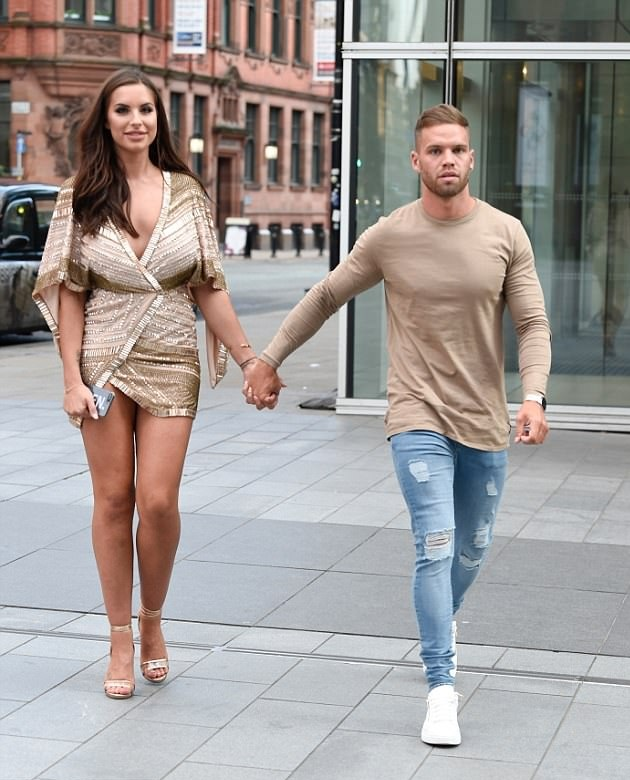 Love Island's Jess Shears hangs out with her beau Dom Lever