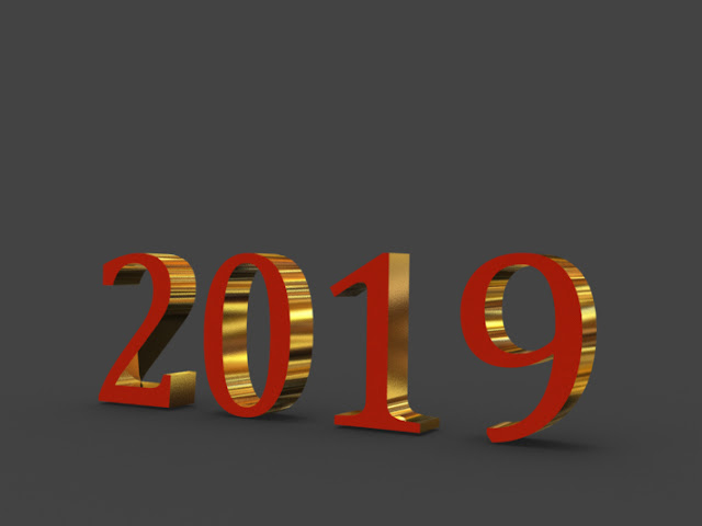 2019 new year 2019 hd 3d images