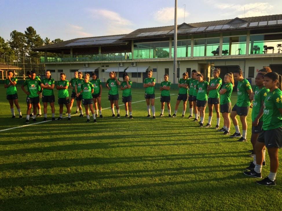 85464abfb5 Seleção Feminina inicia última etapa de treinamento em Itu