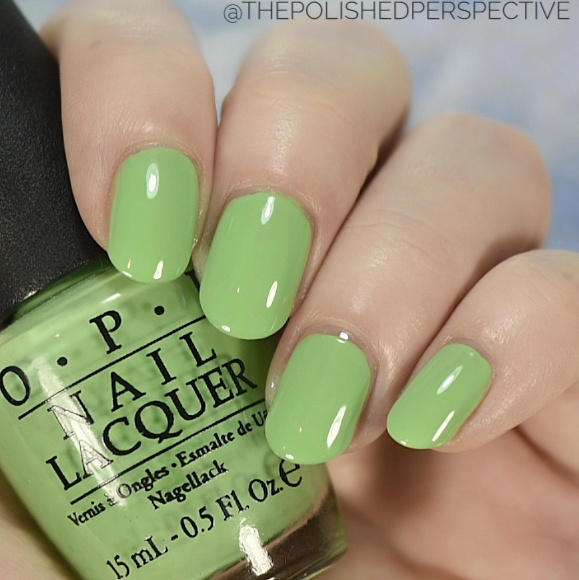 opi you are so outta lime swatch