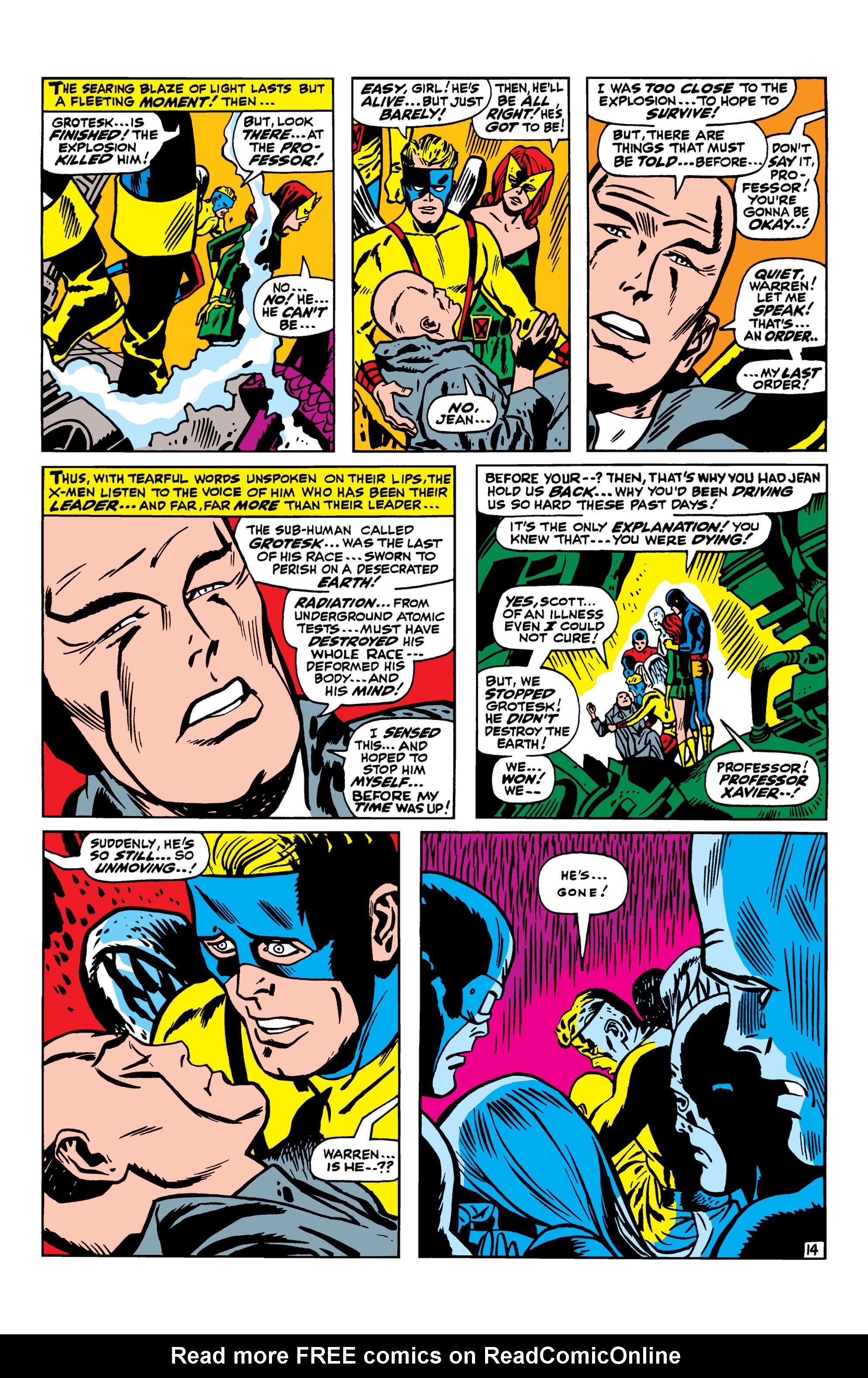 Read online Uncanny X-Men (1963) comic -  Issue #42 - 15