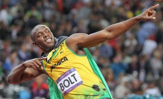 Magical Usain Bolt in London Olympic 2012