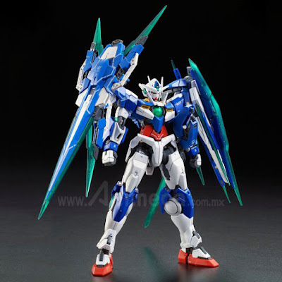 00 QAN[T] Full Saber GNT-0000/FS Real Grade (RG) 1/144 Model Kit Mobile Suit Gundam 00V