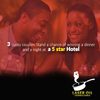 Laser Oil Nigeria wants to spoil 3 lucky couples free of charge in this Season