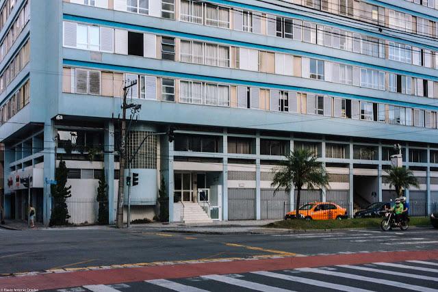 Edifício Alvorada - detalhe entrada