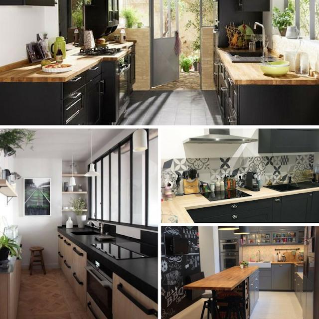 décoration home sweet déco couleurs matière maison cuisine