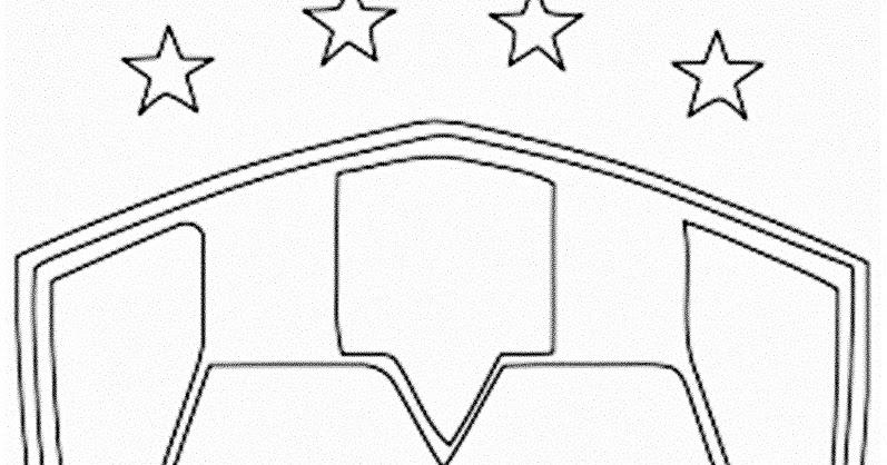 Dibujos Escudos De Futbol Para Colorear: Pinto Dibujos: Imágenes Del Escudo De Los Rayados Del