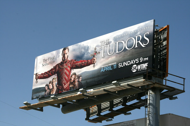 Tudors season 4 Showtime billboard