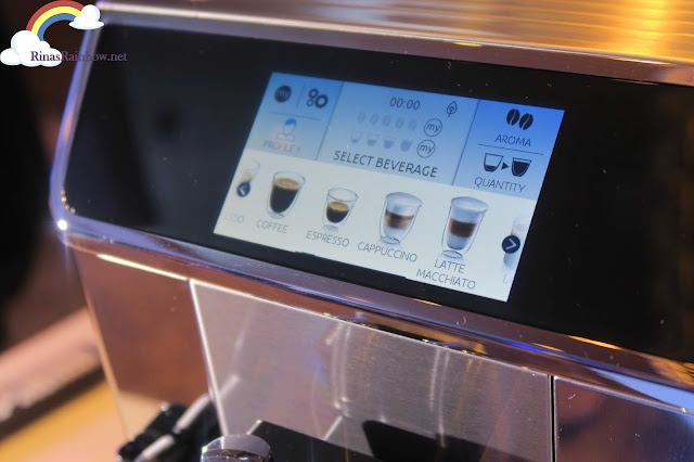 De'Longhi PrimaDonna Elite touch screen