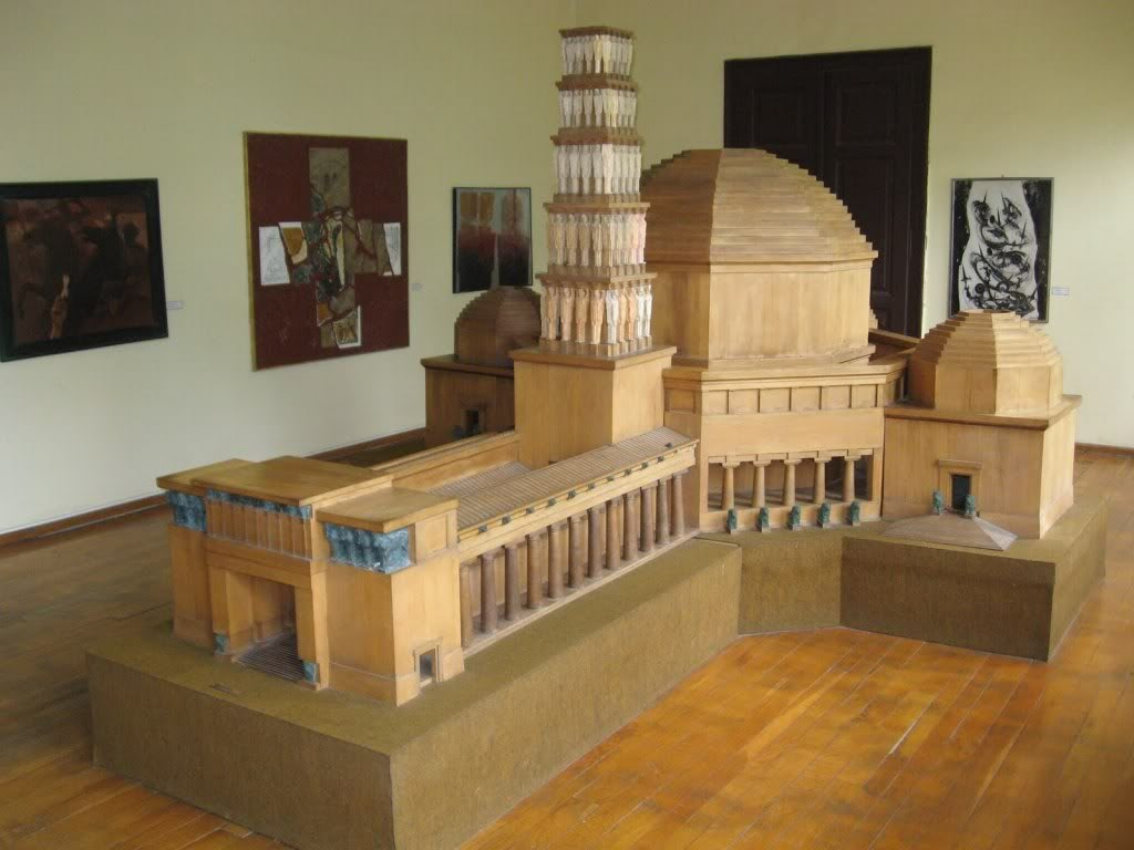 Mock-up Vidovdan temple