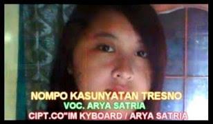 Lirik Lagu Kasunyatan Tresno - Arya Satria
