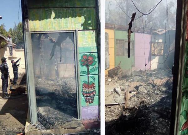 حريق 3 أقسام بمدرسة ابن تومرت في أول يوم دراسي