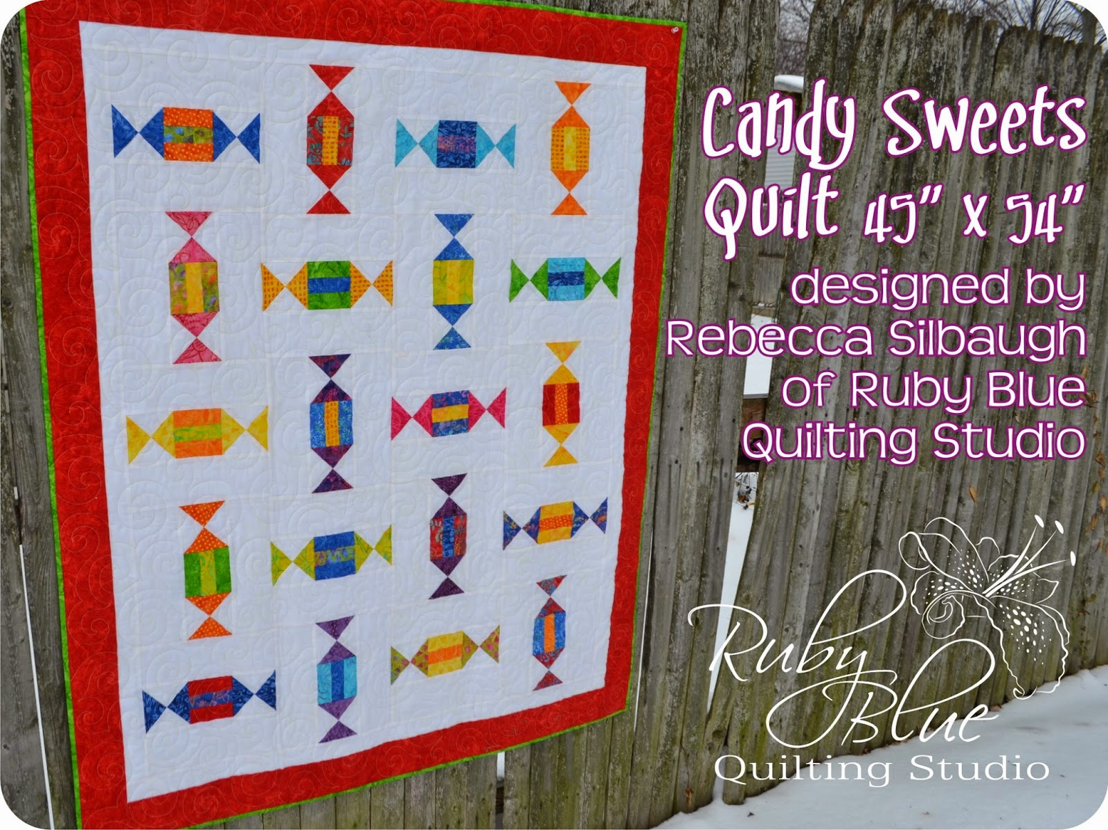 Timeless Treasures Candy Sweets Quilt Tutorial