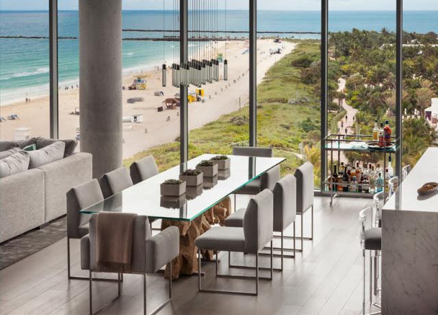 Smiros Miami Beach Penthouse 8 Dining