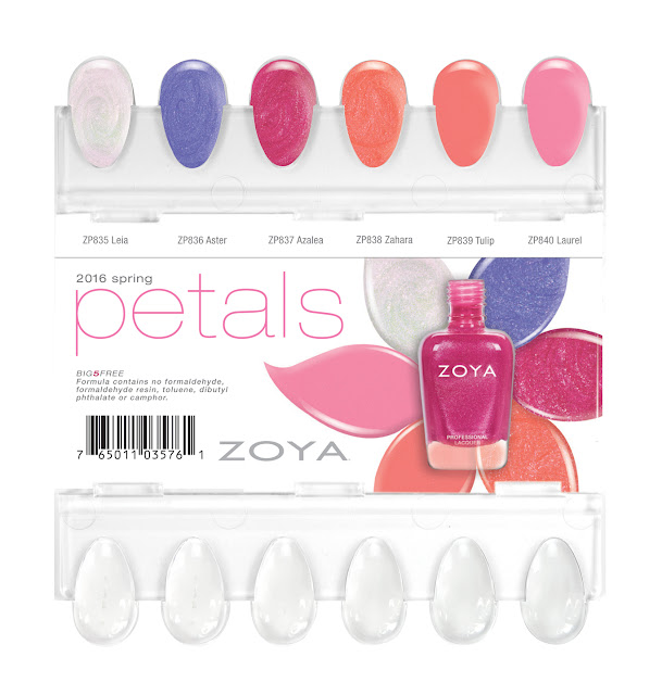 Zoya Spring 2016 Nail Polish Collection – Petals