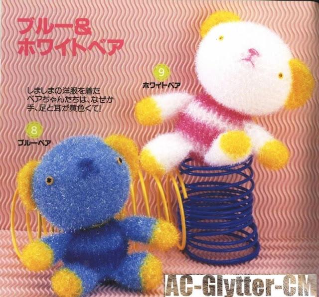 Amigurumi Urso +de 80 Modelos Fofissimos para Inspirar – Amigurumi ... | 596x640