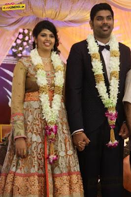 actor-ajay-ratnam-son-wedding-reception