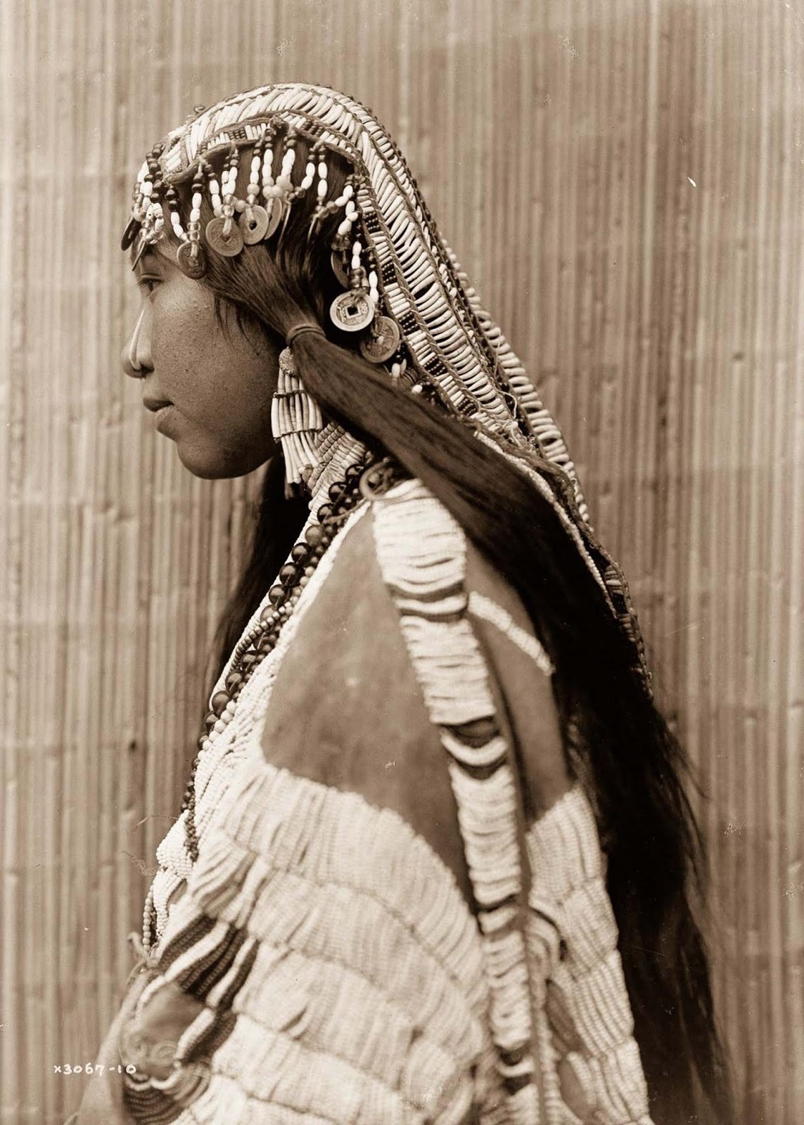 A Wishran girl. 1910.