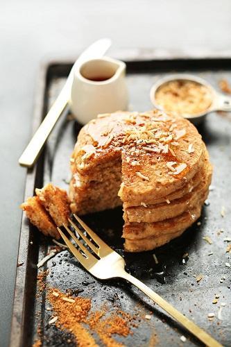 Pancake dừa