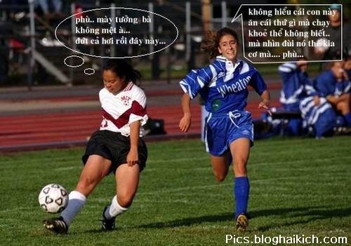 hình ảnh vui bóng đá