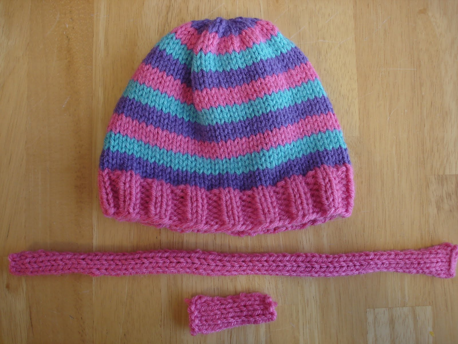 Encantador Knitting Patterns For Beanies With Straight Needles ...