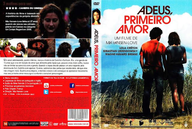 Capa DVD Adeus, Primeiro Amor